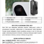 Stacja Ładowania Pojazdów Elektrycznych - instrukcja